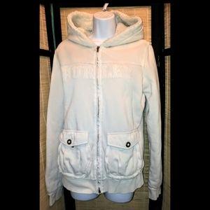 Hurley womens cream/white hoodie